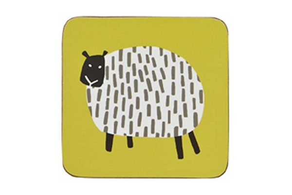 ulster weavers dotty sheep coasters