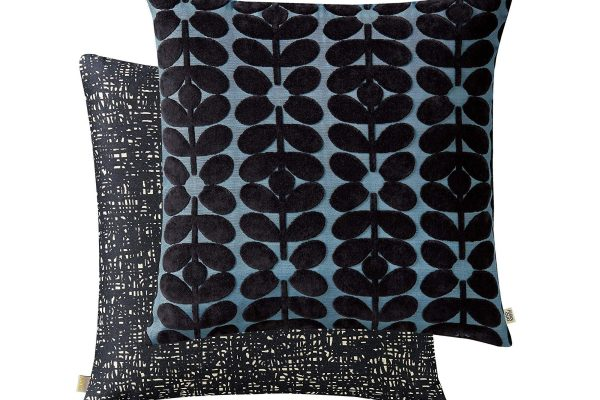orla-kiely-sixties-stem-cushion-dark-marine