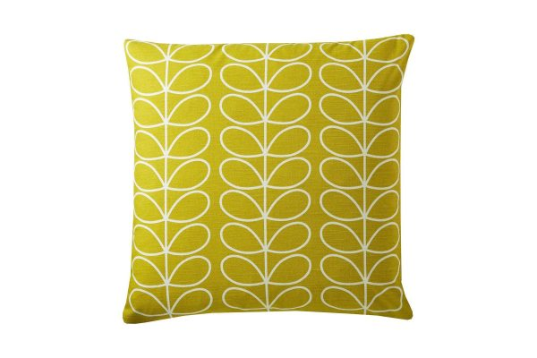 Linear-Stem-Large-Cushion-Sunflower-50x50cm-Front