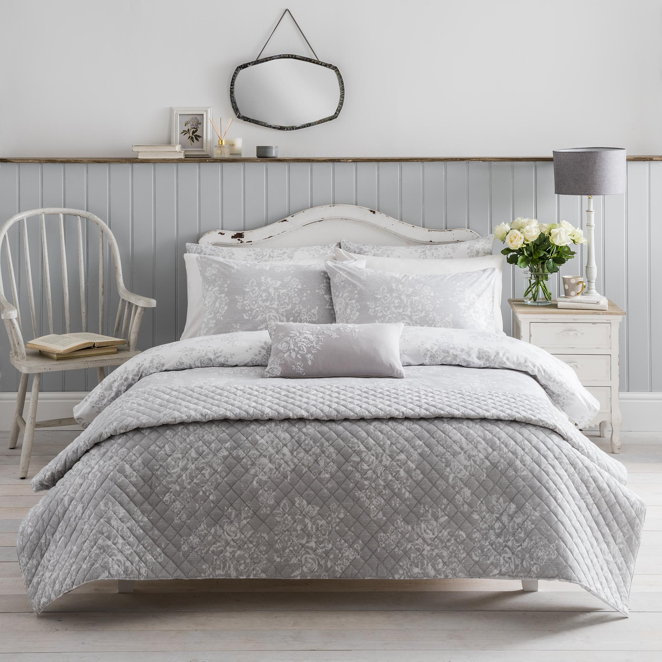 Washed rose duvet cover set by Cath Kidston