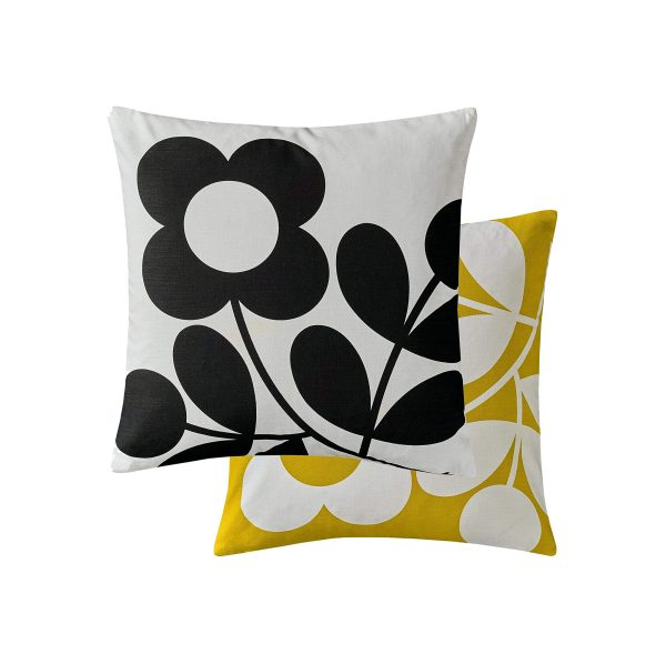 orla kiely sprig stem cushion 45cm x 45cm