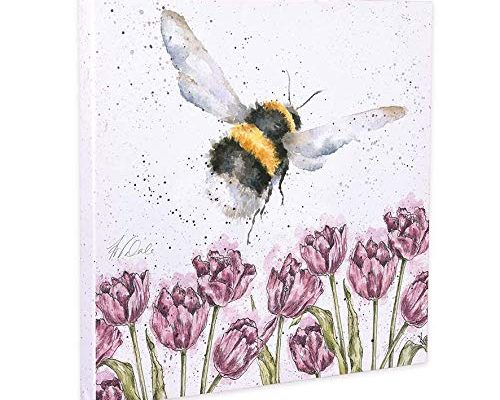 flight of the bumblebee canvas print 20cm x 20cm