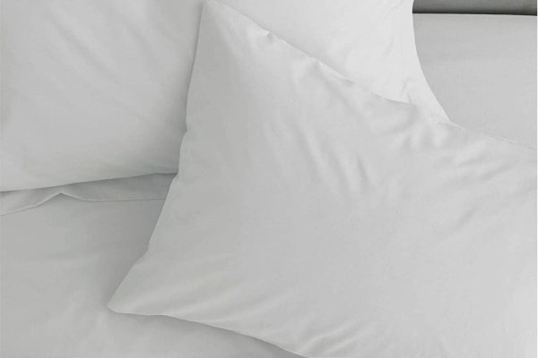 catherine lansfield white sheets & pillowcases