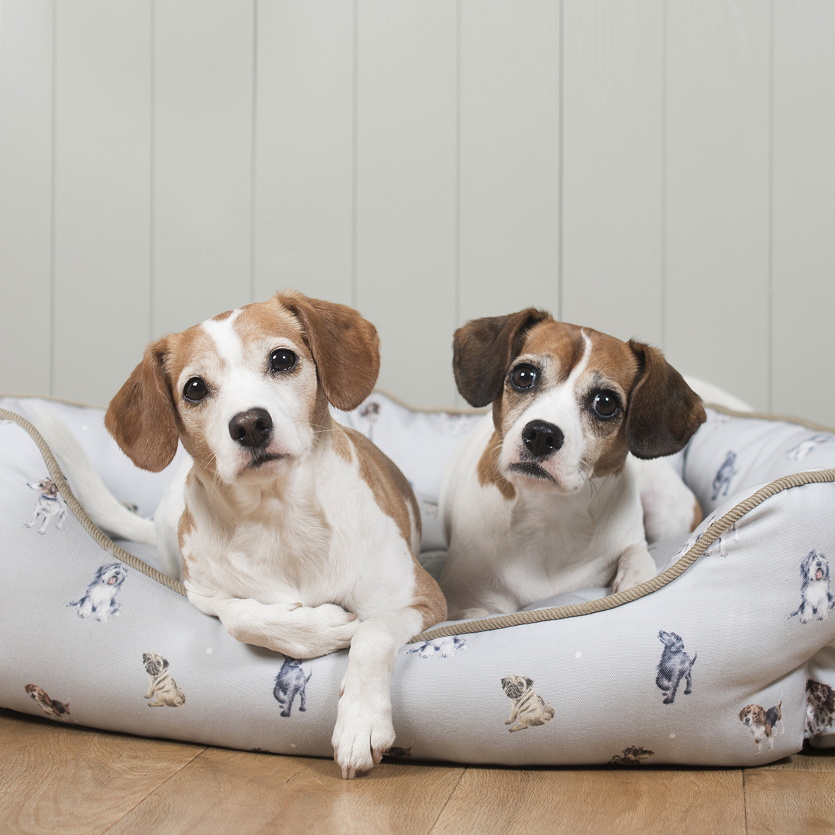 Medium Dog Mattress Wrendale Designs with Dogs