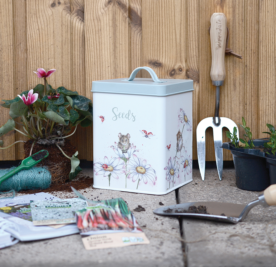 Wrendale Designs Seed Tin
