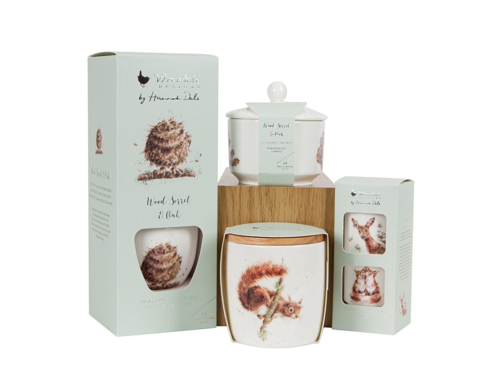wrendale woodland candle collection
