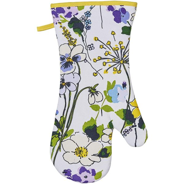 ulster weavers wildflowers cotton gauntlet