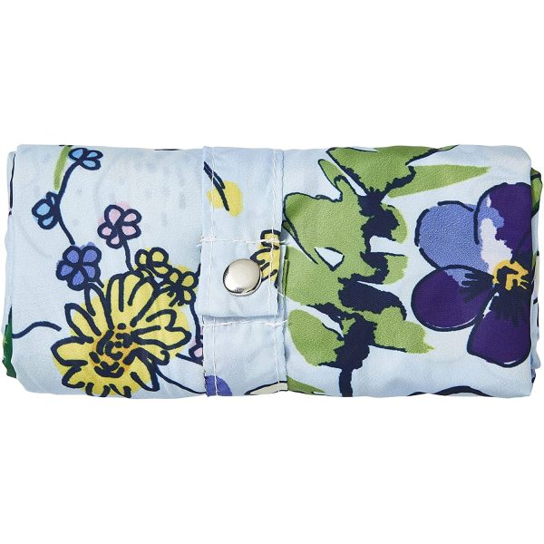 ulster weavers wildflowers packable bag closed