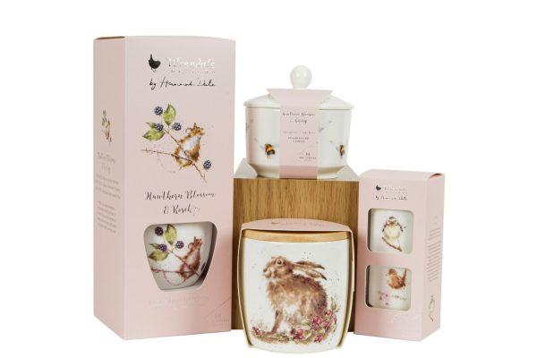 wrendale designs hedgerow candle range