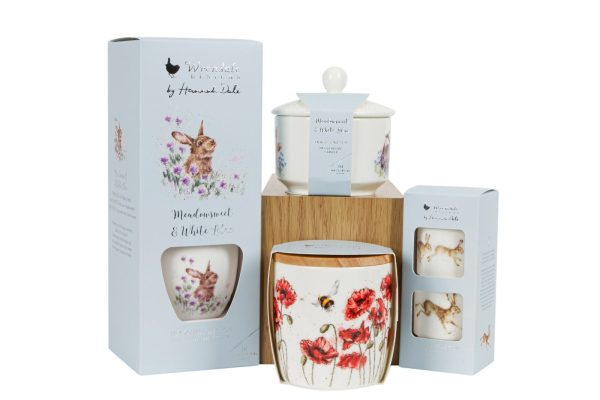 wrendale meadow reed diffusers and candles