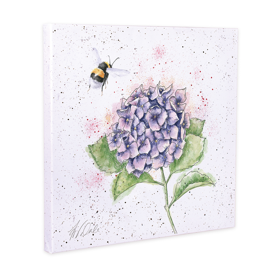 Wrendale Designs the busy bee Canvas print