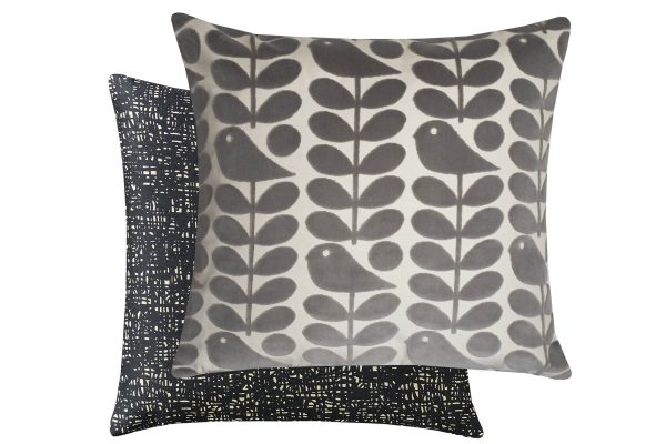 Orla Kiely Early Bird Granite 50x50