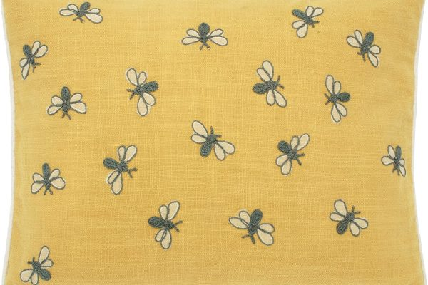 walton & Co scrapbook bumblebee cushion