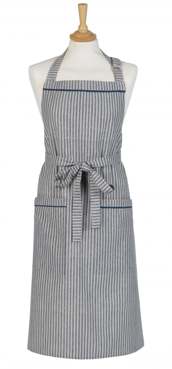 Hampton Stripe Cotton Apron