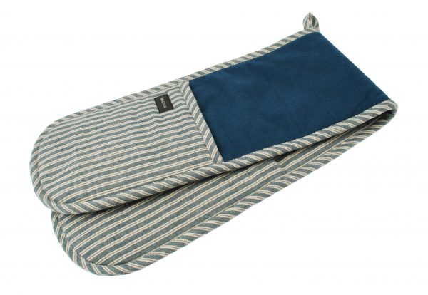 Hampton Stripe Double Oven Glove