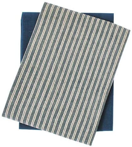 Hampton Stripe Tea Towel set of two