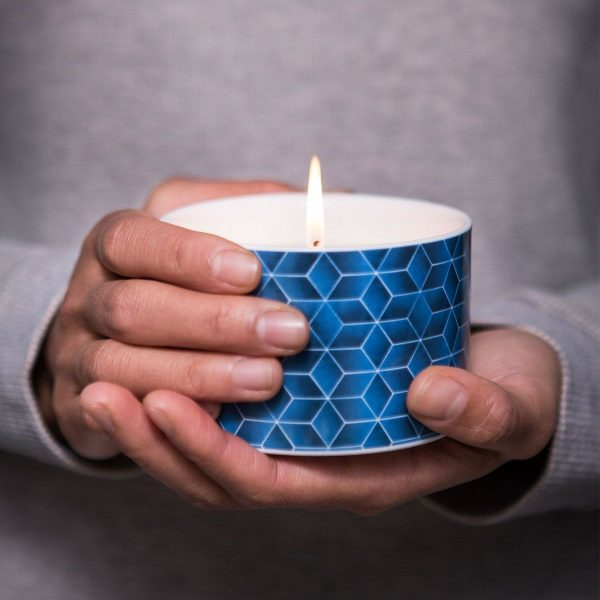 wax lyrical fired earth large ceramic candle assam & white cedar lifestyle