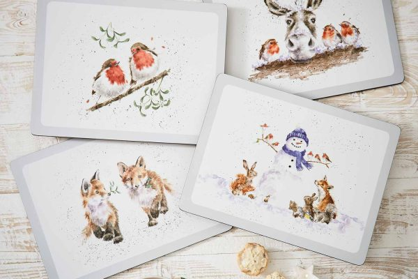 Wrendale Christmas-Placemats large