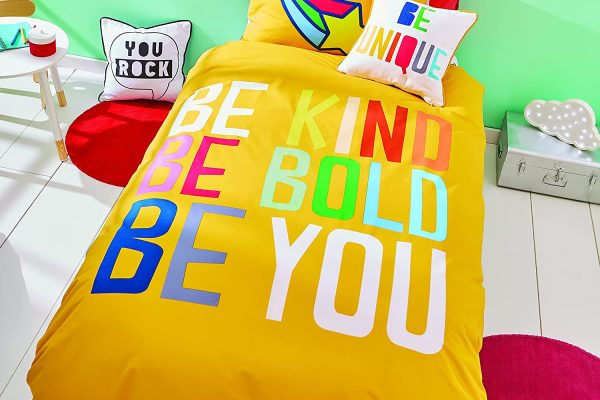 born to be you kids duvet cover set
