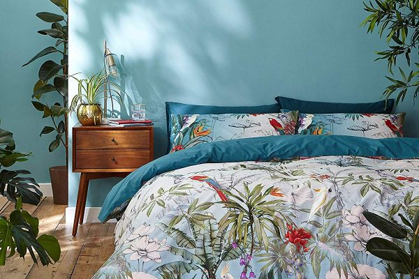 accessorize paradise teal bedding