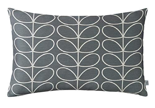 Orla Kiely Woven Grey Linear Stem Cushion