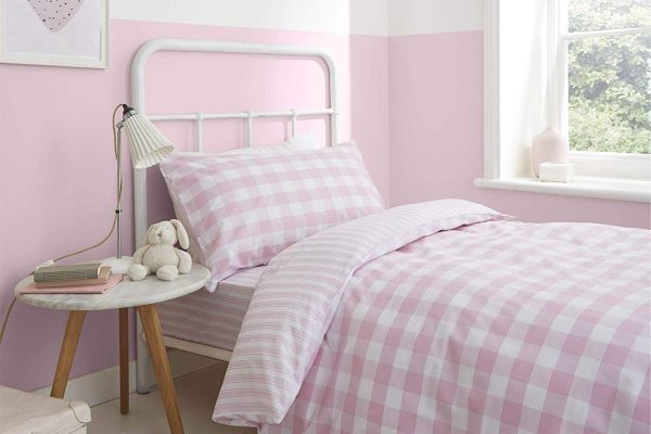 bianca check and stripe duvet sets and sheets