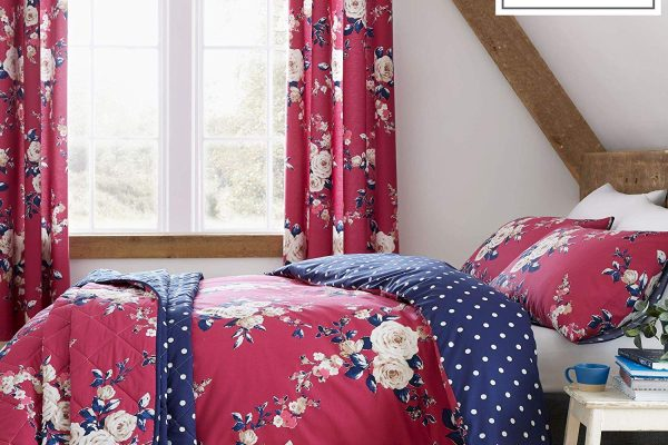 catherine lansfield canterbury plum bedding