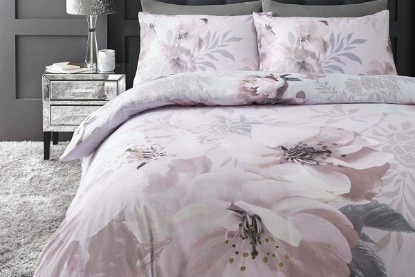 catherine lansfield dramatic floral bedding set