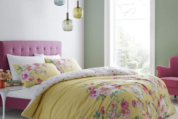 lille floral duvet cover set by catherine lansfield