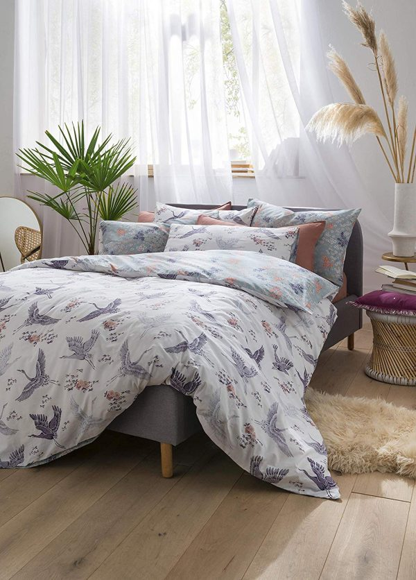 fat face floral flight duvet cover set