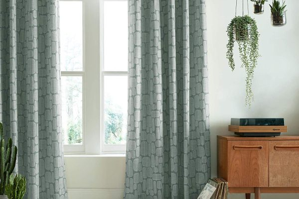 missprint little trees seagrass curtains