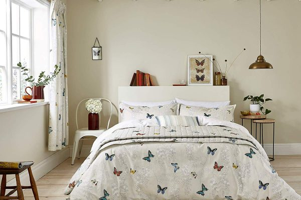 Sanderson Wisteria & Butterfly duvet cover set
