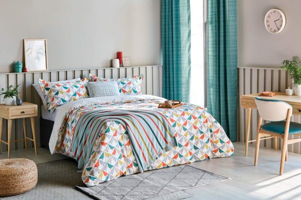 scion lintu duvet cover marina