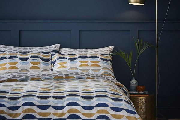 eclipse ochre duvet cover set by terence conran