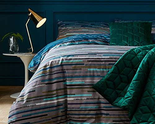 Terence Conran Motion Teal Bedding