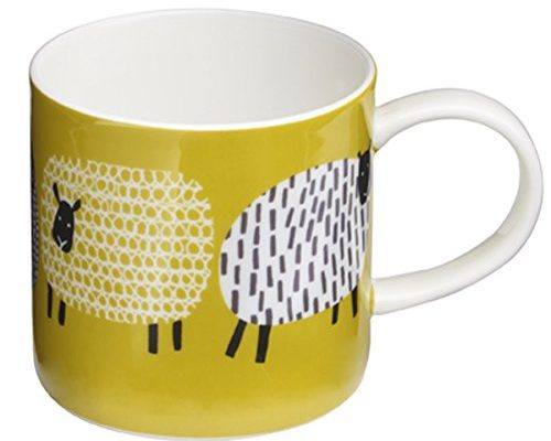 ulster weavers dotty sheep straight sided mug