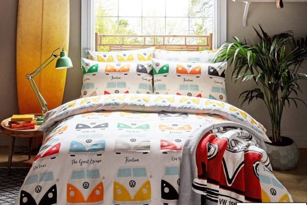 vw multi campervan duvet cover set
