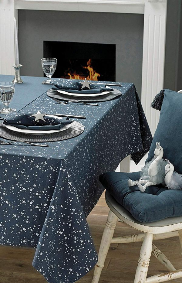 walton & co starry night christmas table textiles
